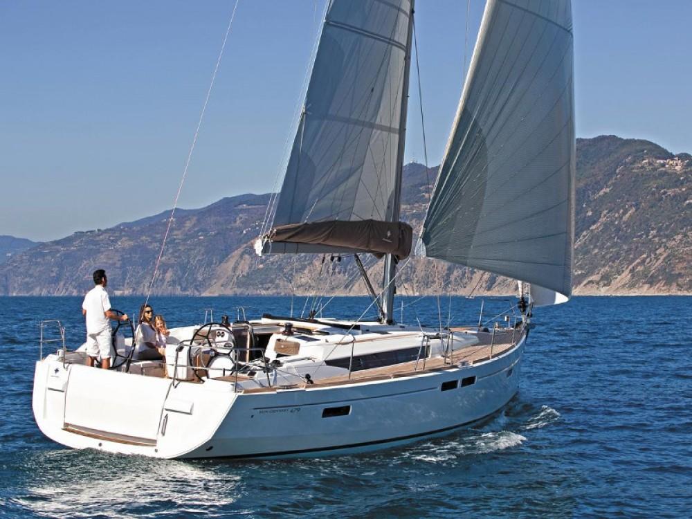 Rental yacht Alimos Marina - Jeanneau Sun Odyssey 479 on SamBoat