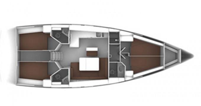 Rental yacht Alimos - Bavaria Bavaria 42 Cruiser on SamBoat
