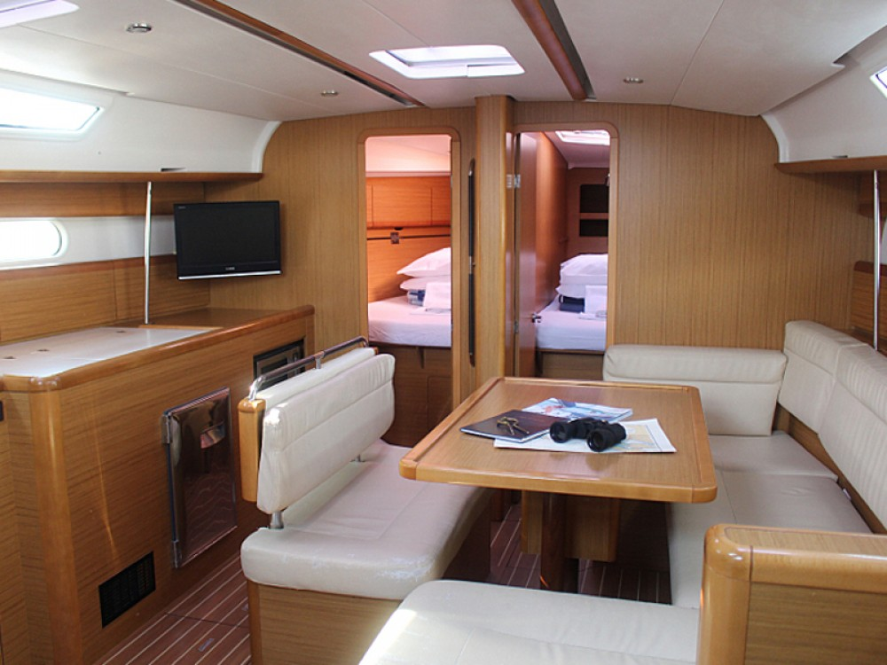 Jeanneau Sun Odyssey 44i between personal and professional Vodice