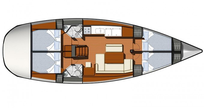 Boat rental Betina cheap Sun Odyssey 44i