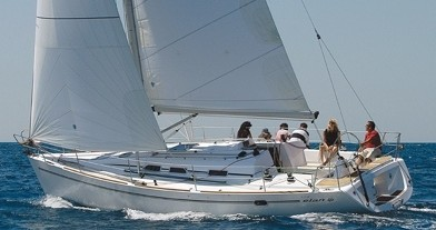 Boat rental Betina cheap Elan 40