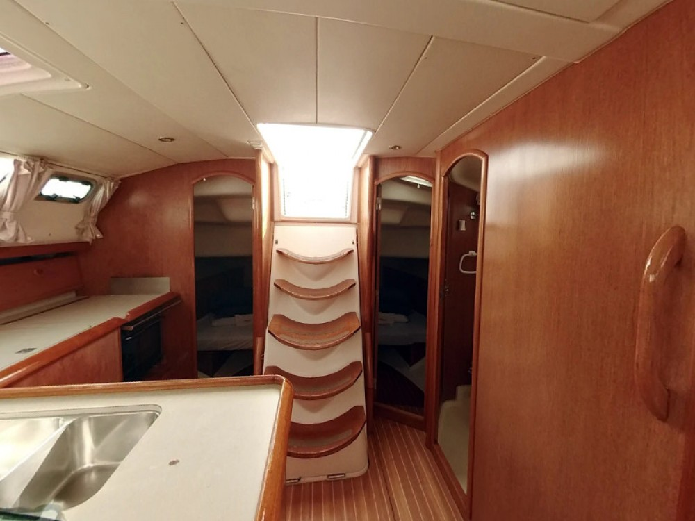 Rental yacht Vodice - Jeanneau Sun Odyssey 43DS on SamBoat