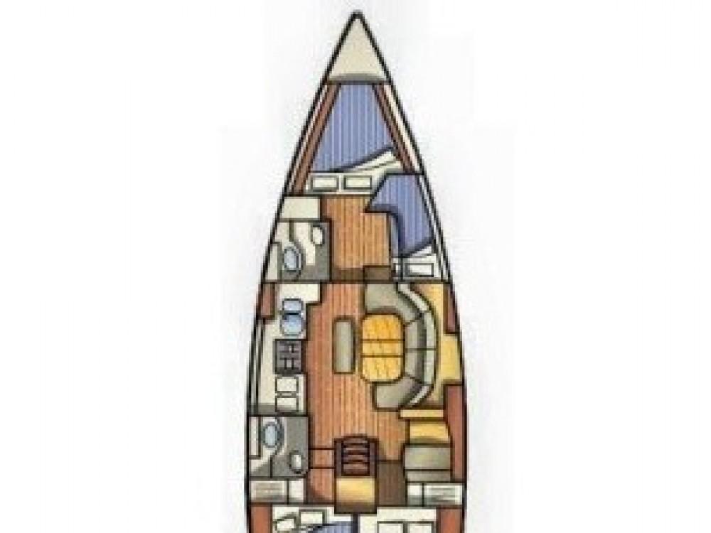 Boat rental Vodice cheap Oceanis 411