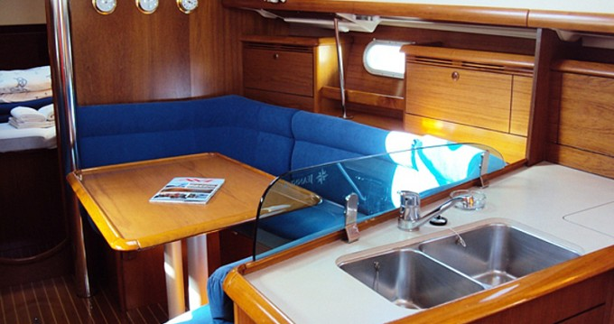 Jeanneau Sun Odyssey 37 between personal and professional Betina