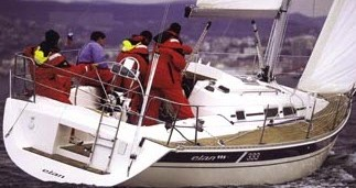 Boat rental Elan Elan 333 in Betina on Samboat