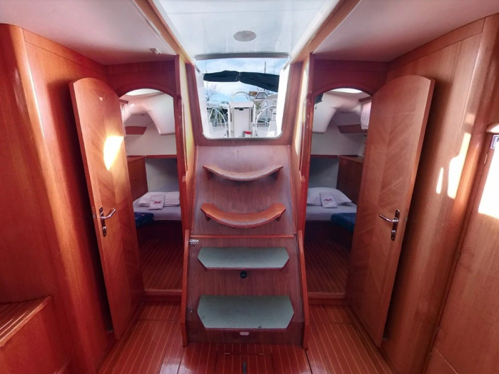 Jeanneau Sun Odyssey 52.2 between personal and professional Vodice