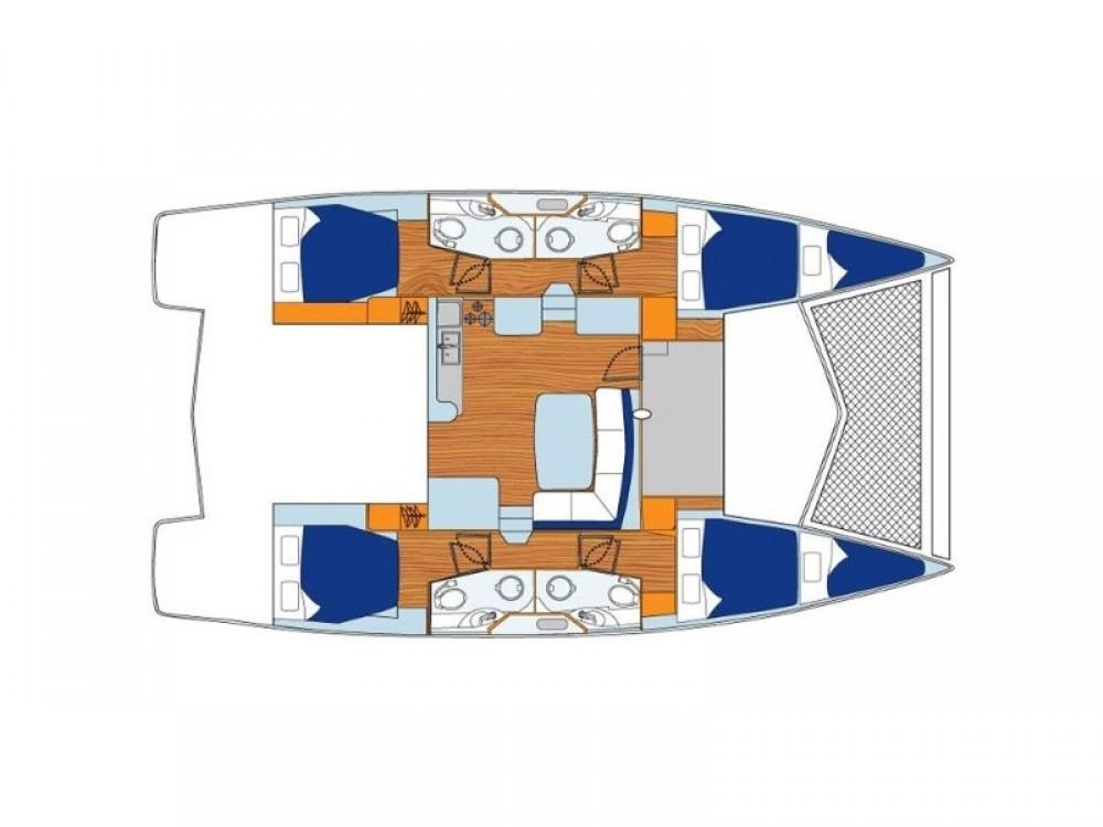 Boat rental ACI marina Vodice cheap Leopard 44
