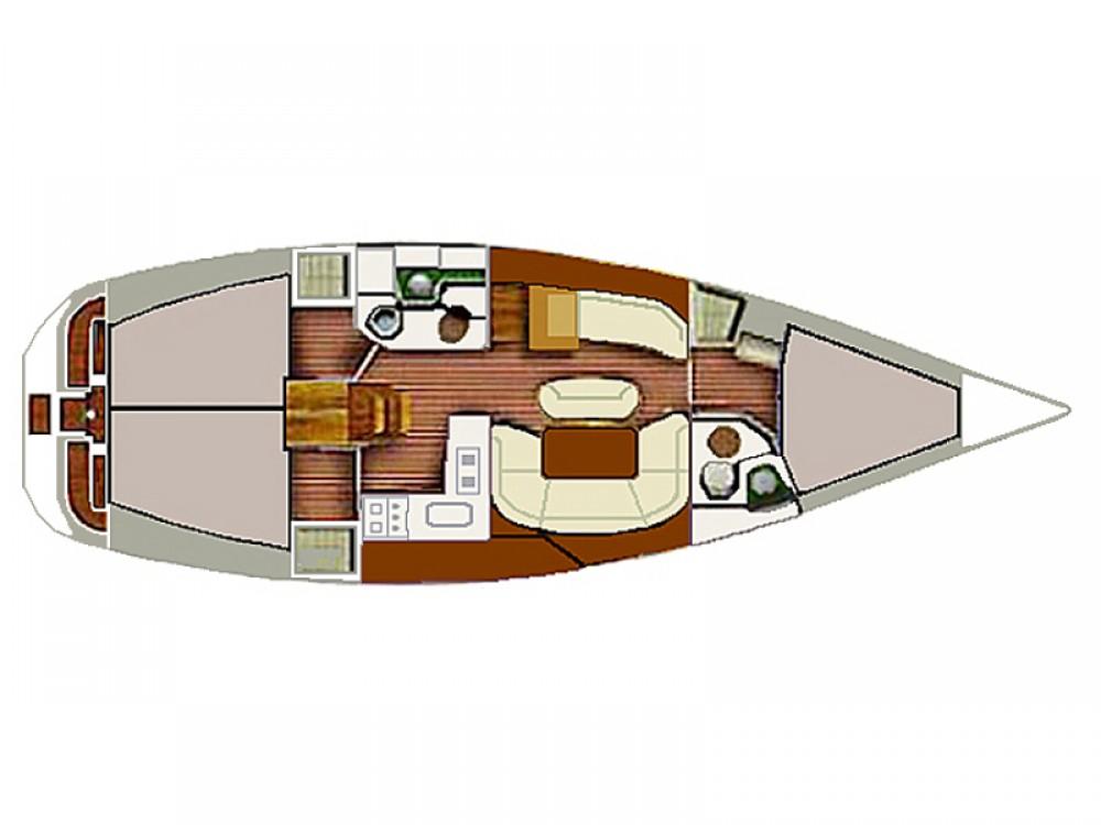 Boat rental Vodice cheap Sun Odyssey 40