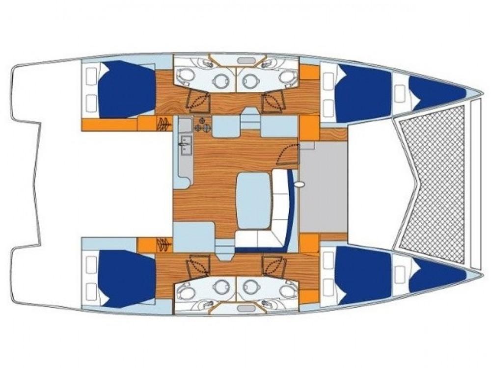 Catamaran for rent ACI marina Vodice at the best price
