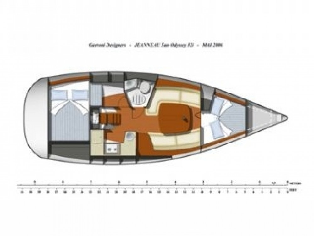 Jeanneau Sun Odyssey 32i between personal and professional Vodice