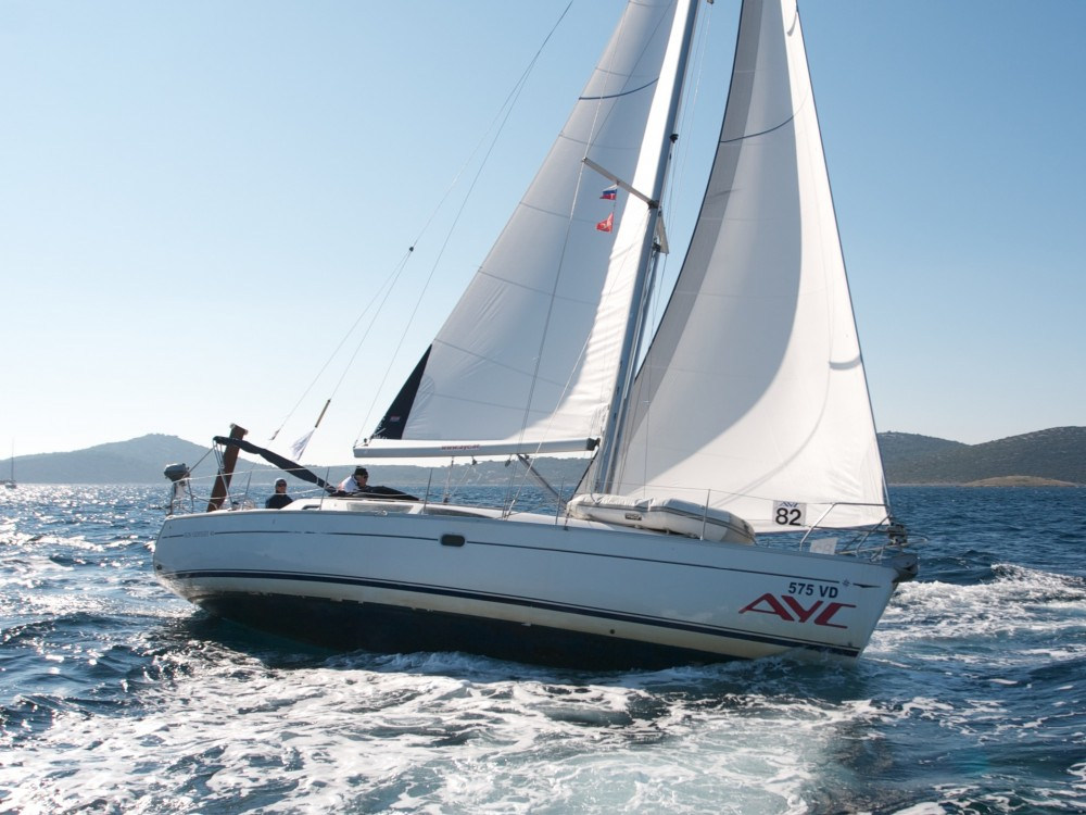 Jeanneau Sun Odyssey 40 between personal and professional