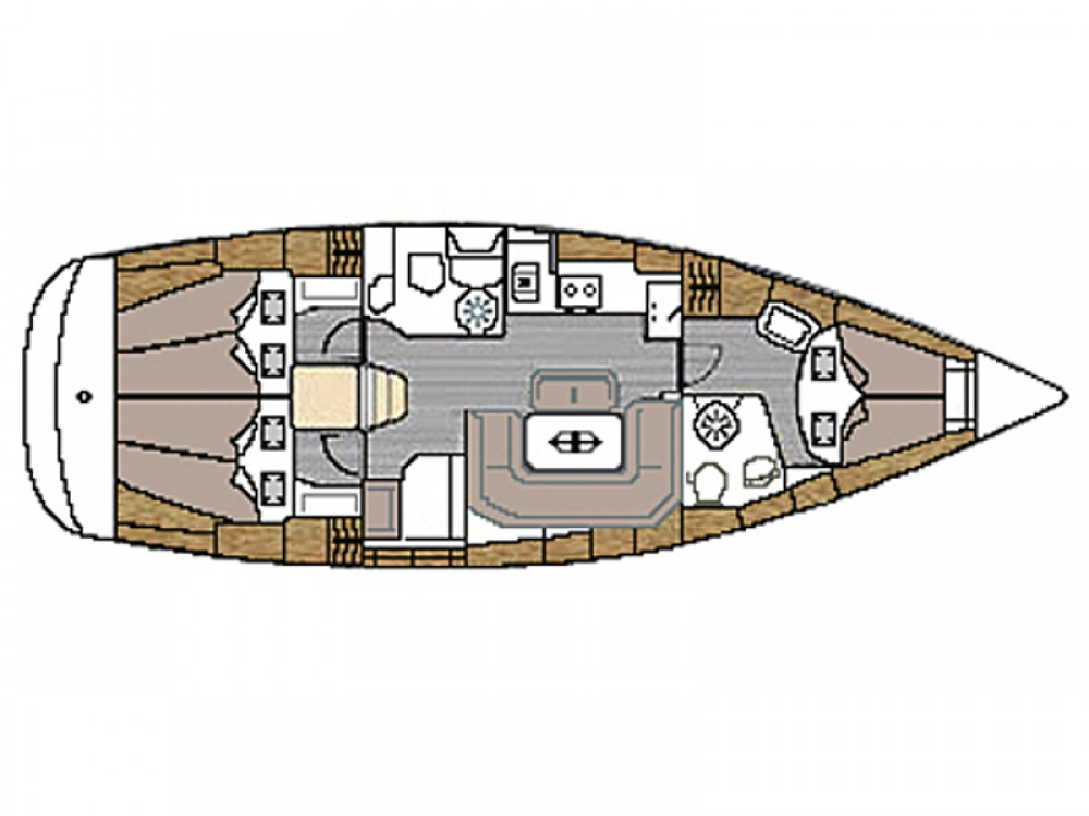 Rental yacht Vodice - Bavaria Bavaria 39 Cruiser on SamBoat