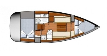 Rental Sailboat in Betina - Jeanneau Sun Odyssey 30i