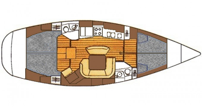 Boat rental Betina cheap Sun Odyssey 45.2