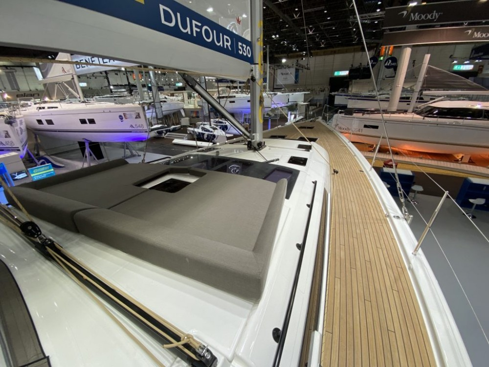 Rental yacht Olbia - Dufour Dufour 530 Exclusive on SamBoat