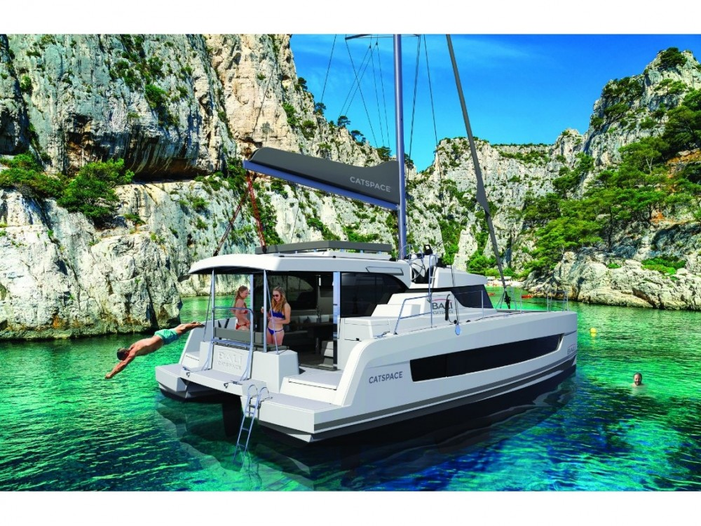 Hire Catamaran with or without skipper Bali Marina di Portisco