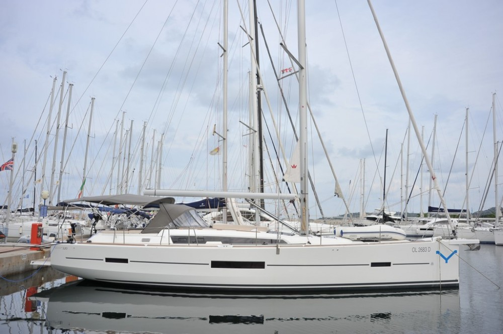 Dufour Dufour 520 GL between personal and professional Olbia