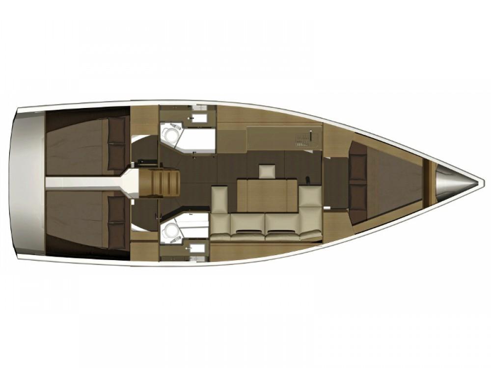 Boat rental Marina di Portisco cheap Dufour 382 Grand Large