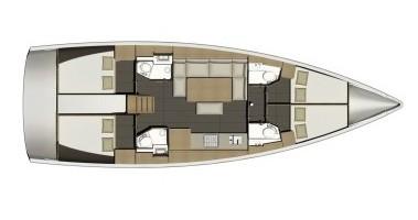 Rental yacht Marina di Portisco - Dufour Dufour 460 Grand Large on SamBoat