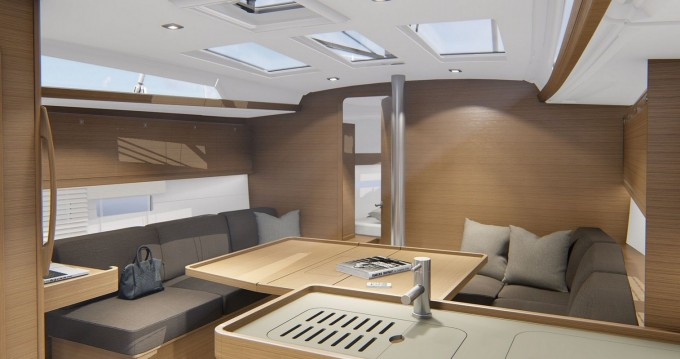 Rental Sailboat in Marina di Portisco - Dufour Dufour 390 Grand Large