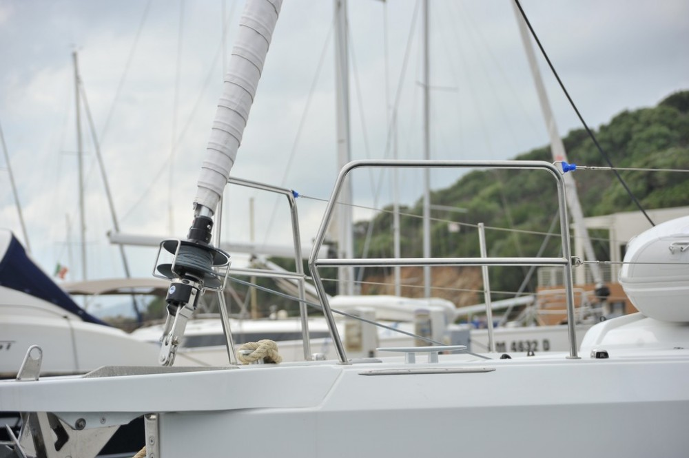 Jeanneau Sun Odyssey 440 between personal and professional Olbia