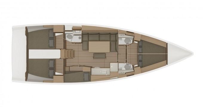 Rent a Dufour Dufour 460 Grand Large 5Cab Marina di Portisco