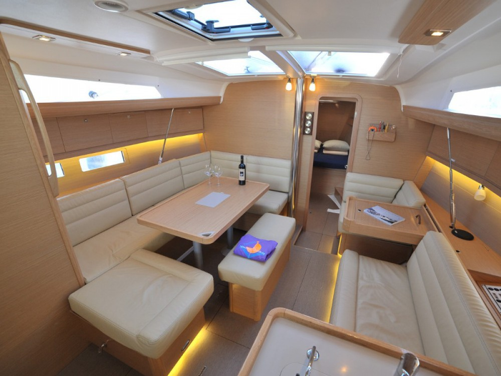 Boat rental Olbia cheap Dufour 412 Efram