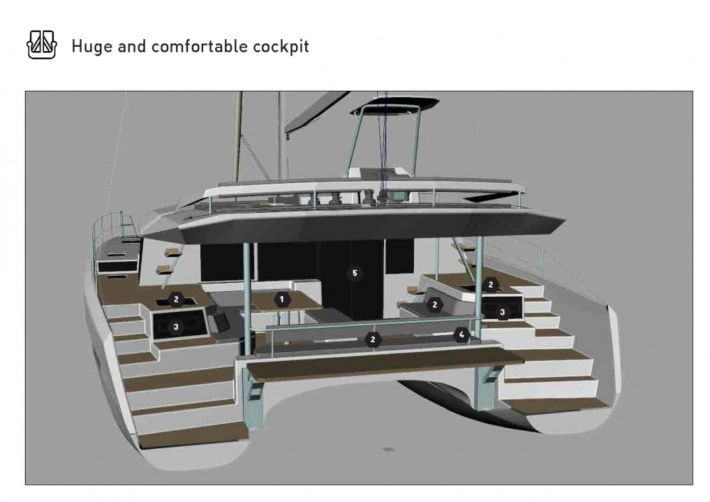 Rent a Dufour Dufour Catamaran 48