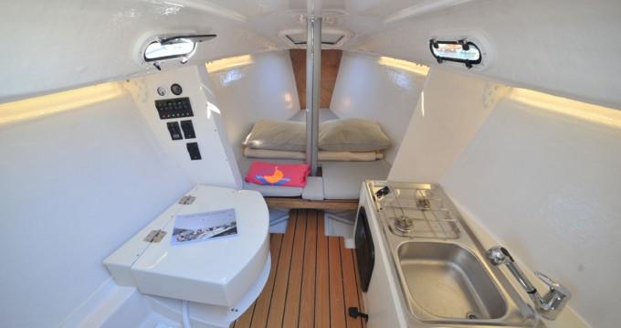 Rental Sailboat in Porto Rotondo - Bénéteau Beneteau 25 Platu