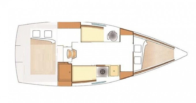 Sailboat for rent Porto Rotondo at the best price