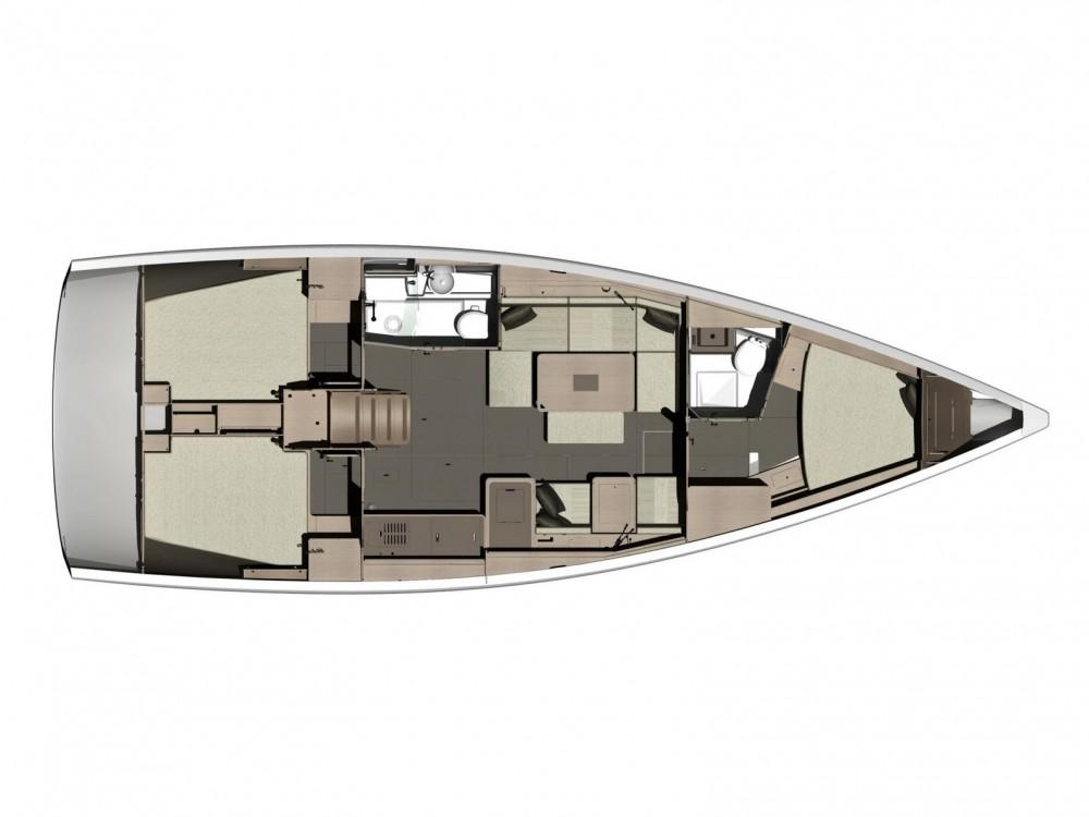 Boat rental Dufour Dufour 412 Grand Large in  on Samboat
