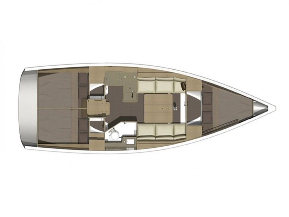 Rental yacht Olbia - Dufour Dufour 350 Grand Large on SamBoat