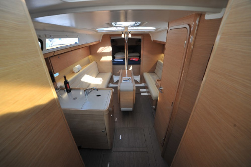 Dufour Dufour 350 Grand Large between personal and professional Olbia