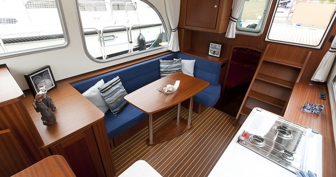 Hire Motorboat with or without skipper Linssen Capestang
