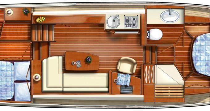 Rental Motorboat in Capestang - Linssen Linssen 33.9AC