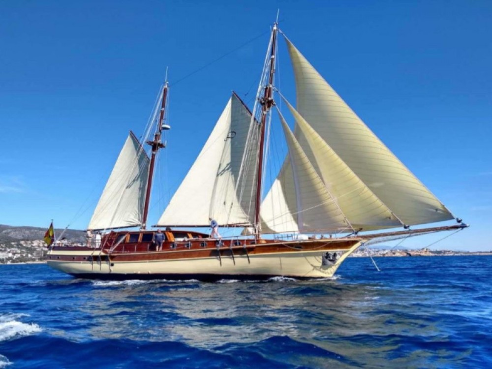 Boat rental Palma cheap Gulet- Dirdam
