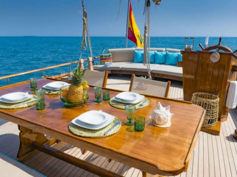 Rental Sailboat in Palma -  Gulet- Dirdam