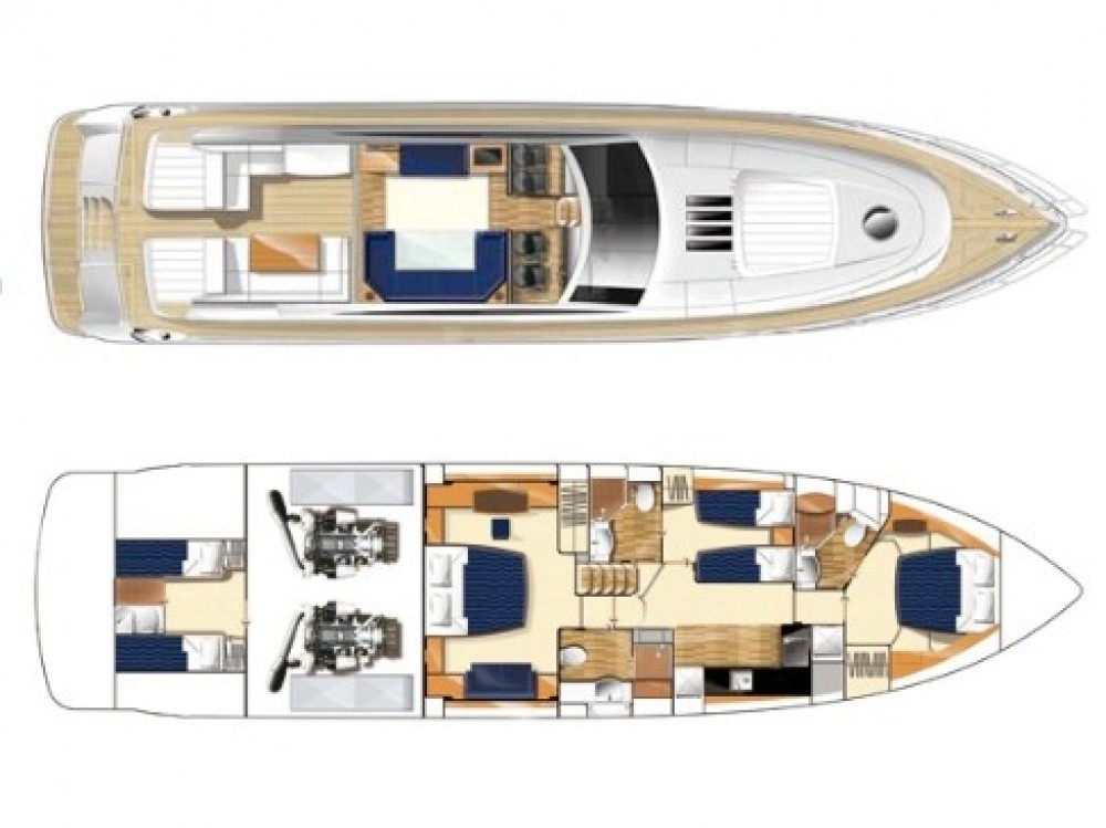 Hire Yacht with or without skipper Princess Palma
