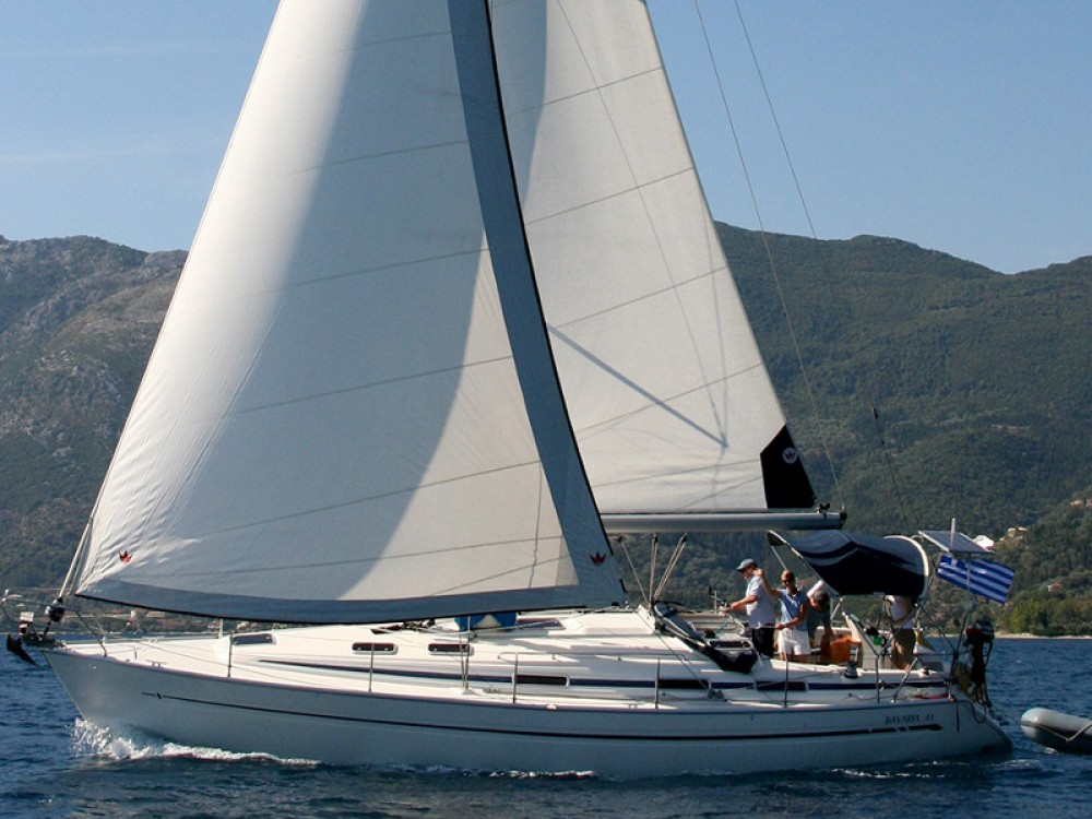 Boat rental Lefkada cheap Bavaria 41
