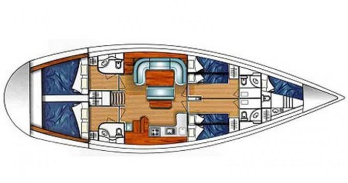 Ocean Ocean Star 51.1 between personal and professional Lefkas Marina