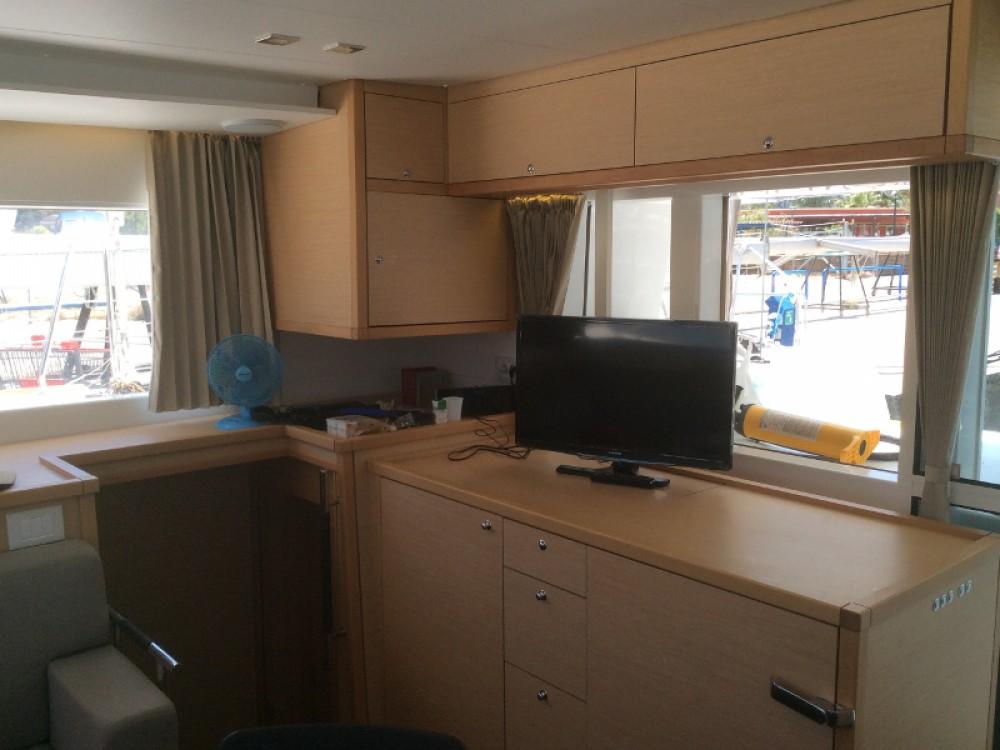 Rental Catamaran in Torre del Greco - Lagoon Lagoon 450