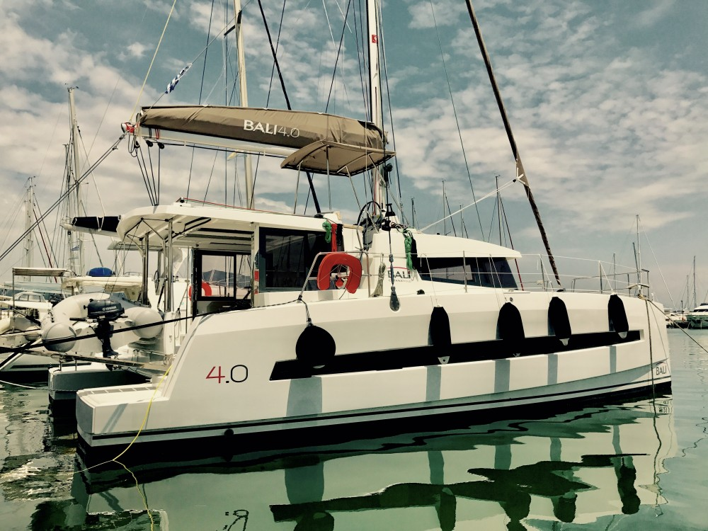 Hire Catamaran with or without skipper Bali Kontokali