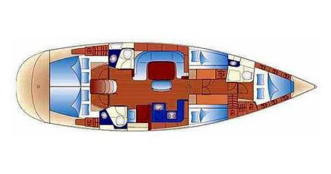 Boat rental Palma de Mallorca cheap Bavaria 49