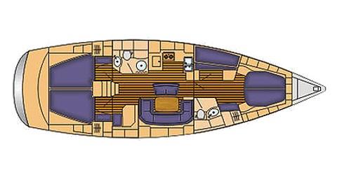 Rental yacht Palma de Mallorca - Bavaria Bavaria 46 Cruiser on SamBoat