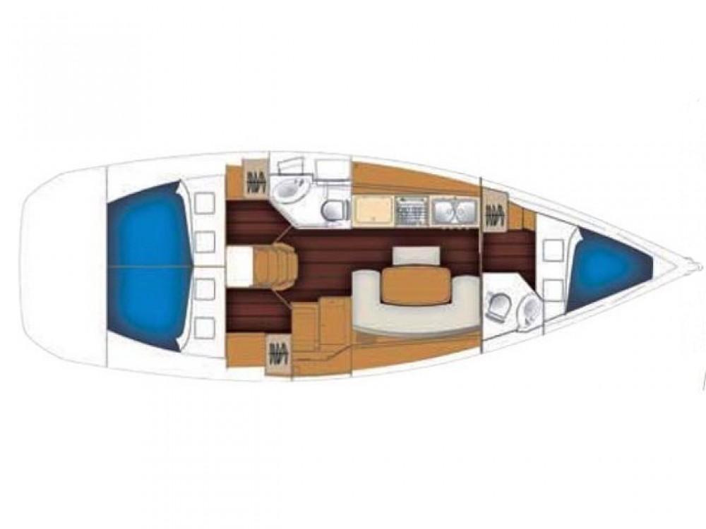 Rental yacht Palma - Bénéteau Cyclades 39 on SamBoat