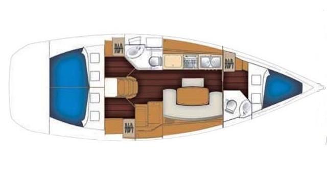 Boat rental Palma de Mallorca cheap Cyclades 39