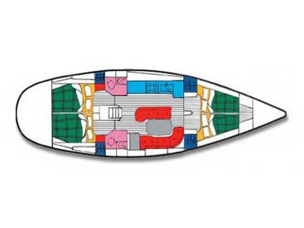 Rental yacht Palma - Bénéteau Oceanis 461 on SamBoat