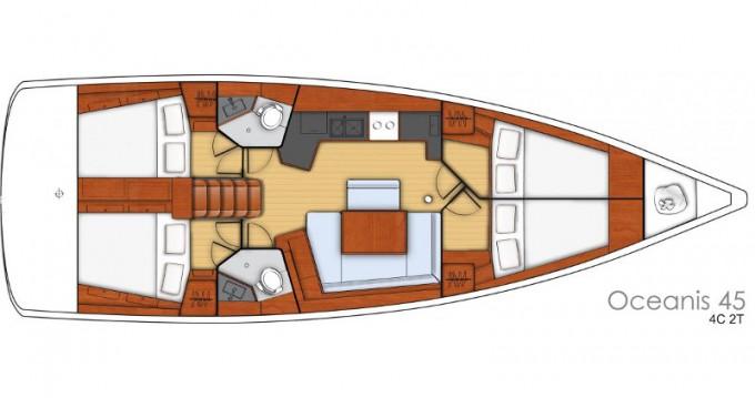 Rental Sailboat in Palma de Mallorca - Bénéteau Oceanis 45