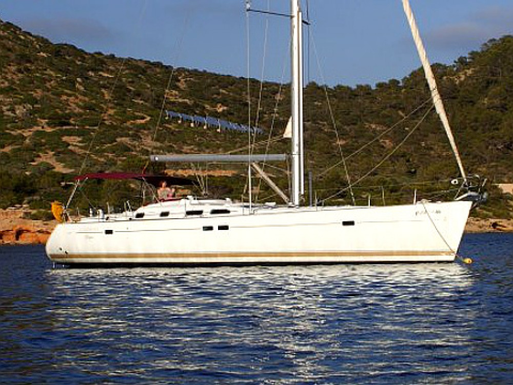 Bénéteau Oceanis 473 between personal and professional Palma