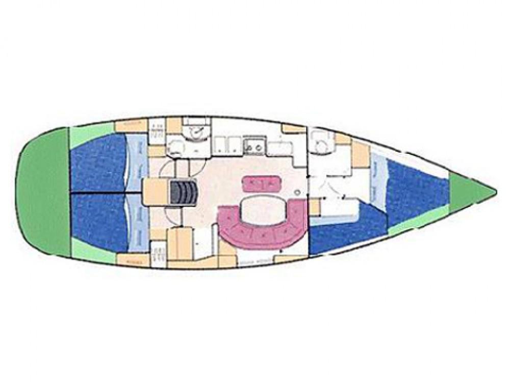 Rent a Bénéteau Oceanis 411-4 Palma